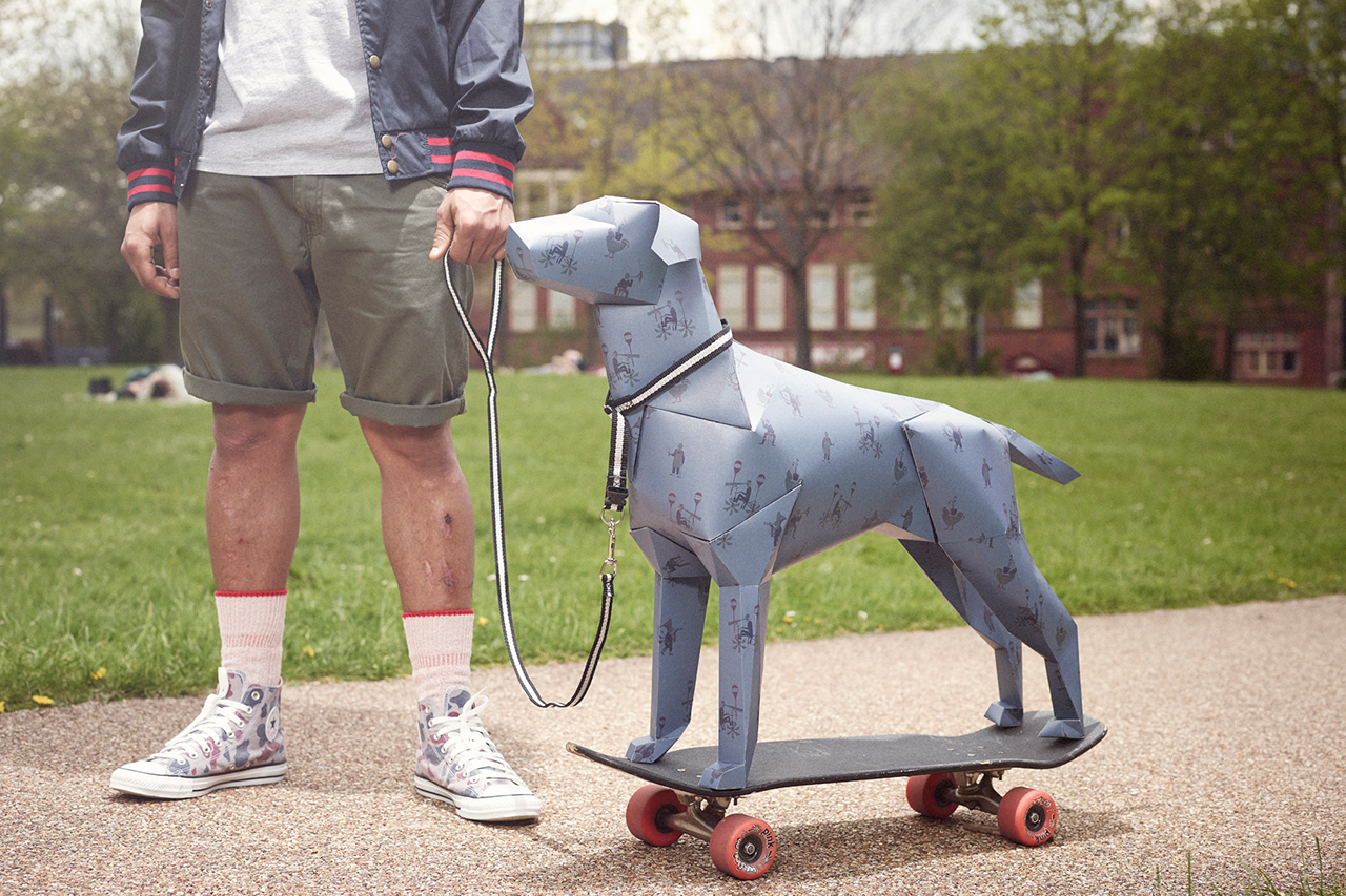 """Image of Togs + Clogs 2013 Spring/Summer """"Classic Dog Moments"""" Lookbook"""