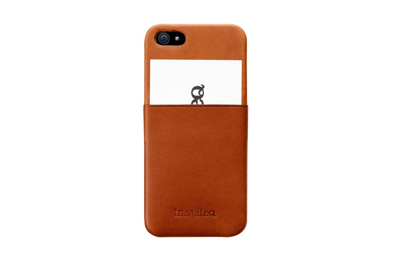 Image of Travelteq Leather iPhone 5 Case
