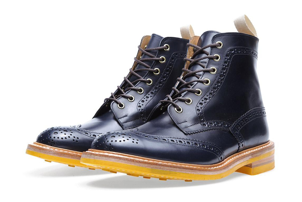 Image of Tricker's x End Hunting Co. Stow Brogue Boot