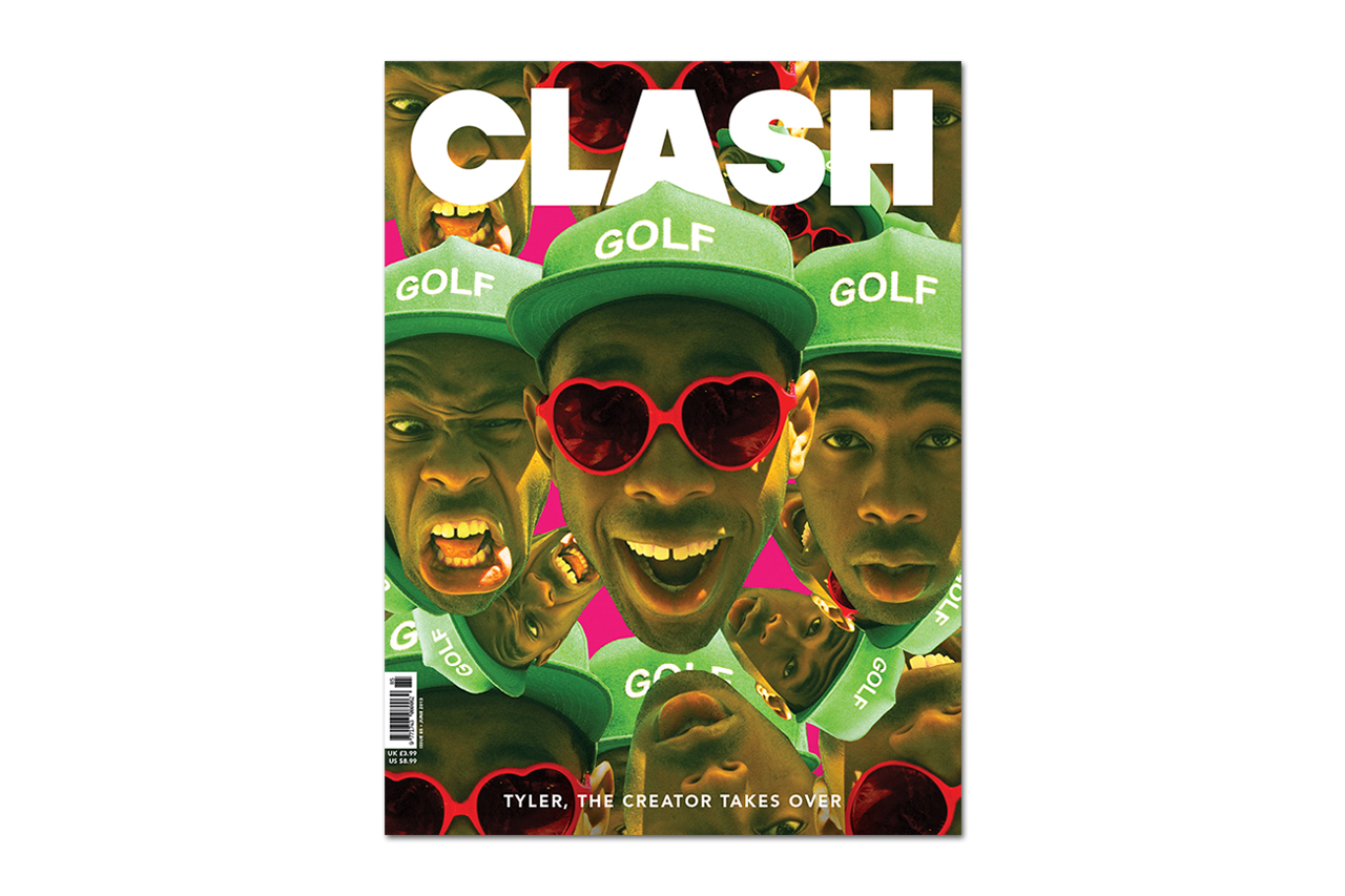 Image of Tyler, the Creator Takes Over Clash Magazine's June 2013 Issue