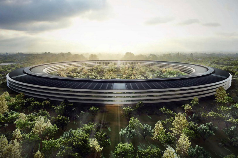 Image of Updated Plans Released for Apple Campus in Cupertino