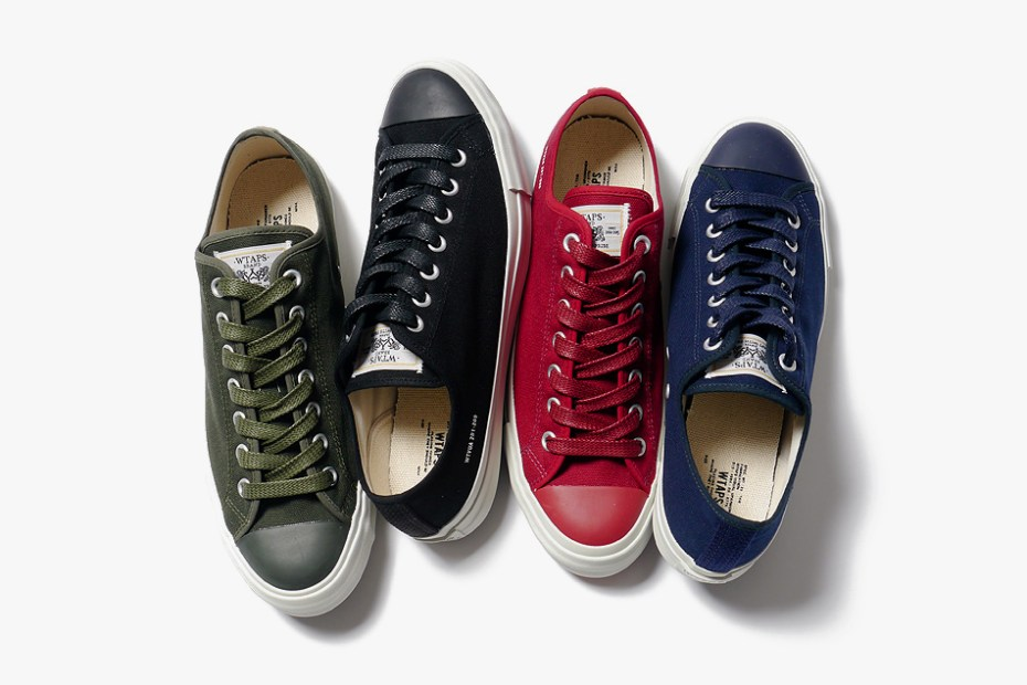 Image of WTAPS 2013 Spring/Summer Canvas Sneaker
