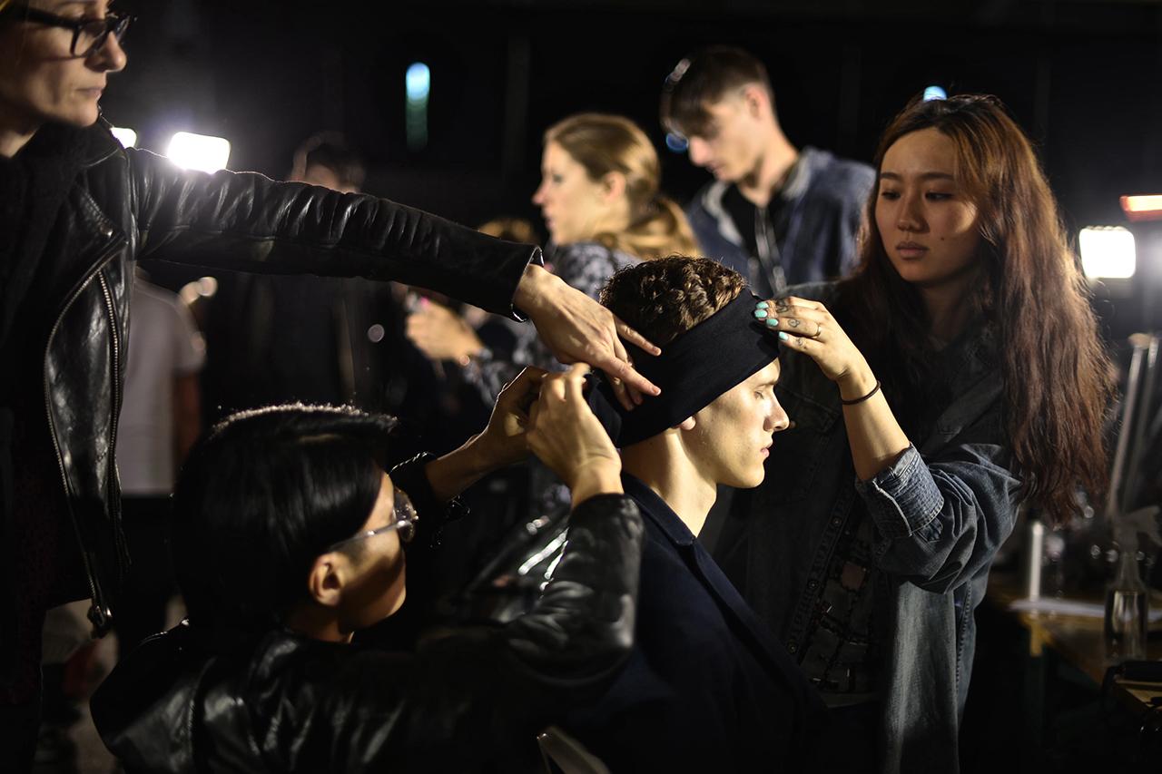 Image of 3.1 Phillip Lim 2014 Spring/Summer Backstage Visuals