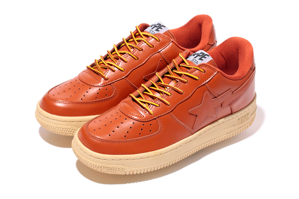Image of A Bathing Ape GLASS LEATHER BAPESTA
