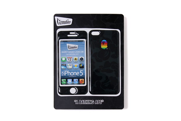 Image of A Bathing Ape x Gizmobies iPhone 5 SOLID CAMO PROTECTOR