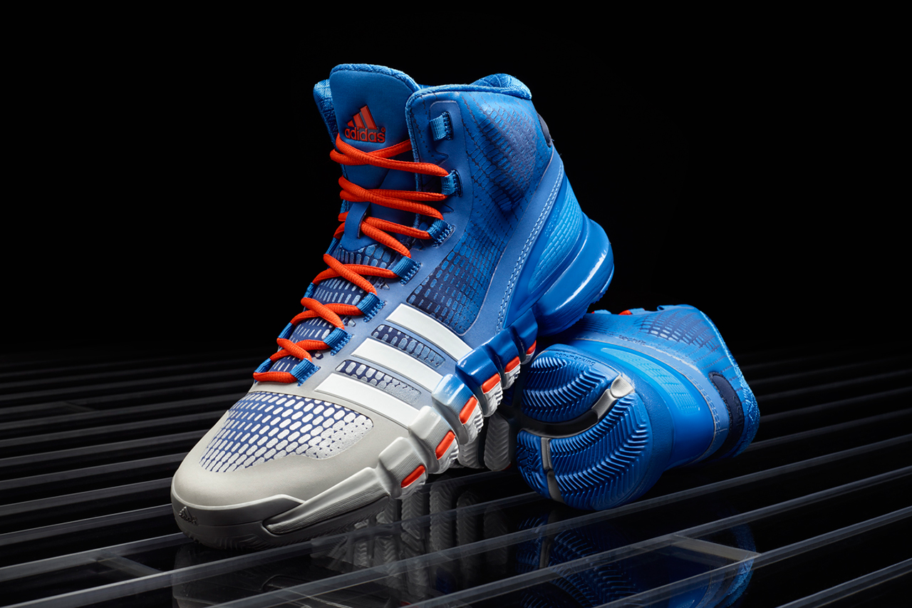 Image of adidas Crazyquick Blue/Silver/Orange