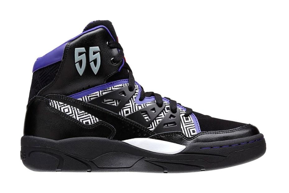 Image of adidas Mutombo Black/White/Purple