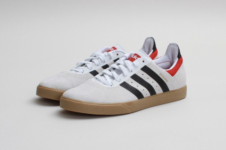 Image of adidas Skateboarding Busenitz ADV Run White/Black-Brick