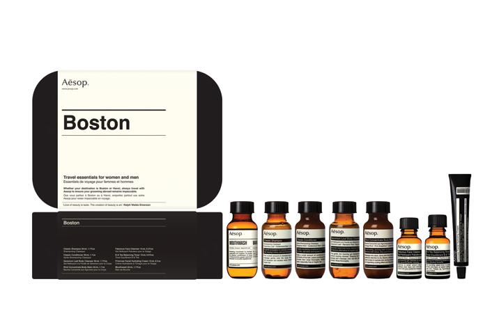 "Image of Aēsop ""Boston"" and ""London"" Travel Kits"