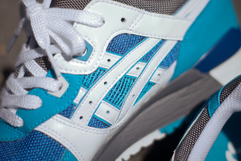 Image of ASICS Gel Lyte III Blue/White Kith Exclusive