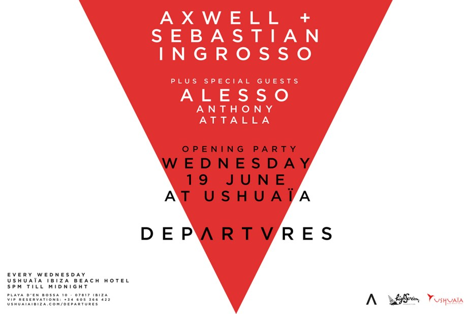 Image of Axwell & Sebastian Ingrosso Present Departures Ibiza