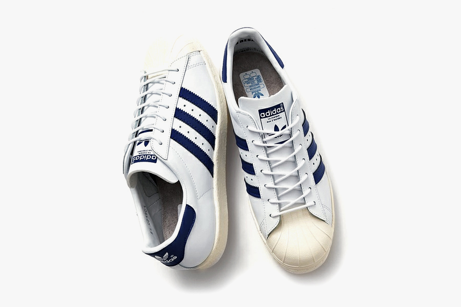 Image of Beauty & Youth x adidas Originals Superstar '80s Navy