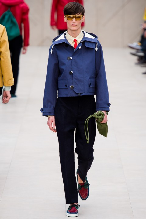 Image of Burberry Prorsum 2014 Spring Collection