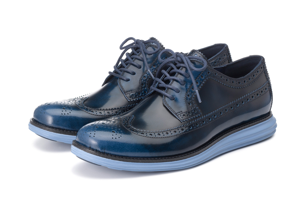 Image of Cole Haan 2013 Fall LunarGrand Long Wingtip Collection