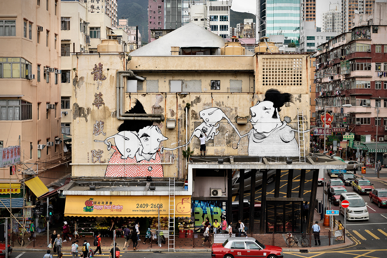 "Image of Converse's ""Wall to Wall"" Leaves Its Impressions on Hong Kong"