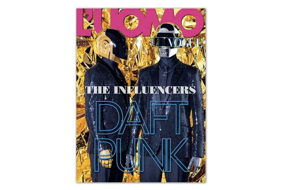 Image of Daft Punk for L'Uomo Vogue Cover