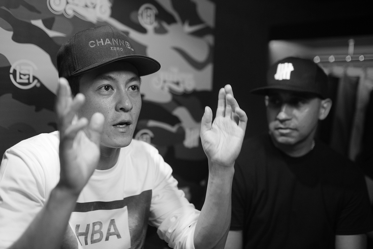 "Image of Eddie Cruz, Kevin Poon and Edison Chen Discuss the Undefeated x Nike ""Bring Back"" Packs and Street Fashion"