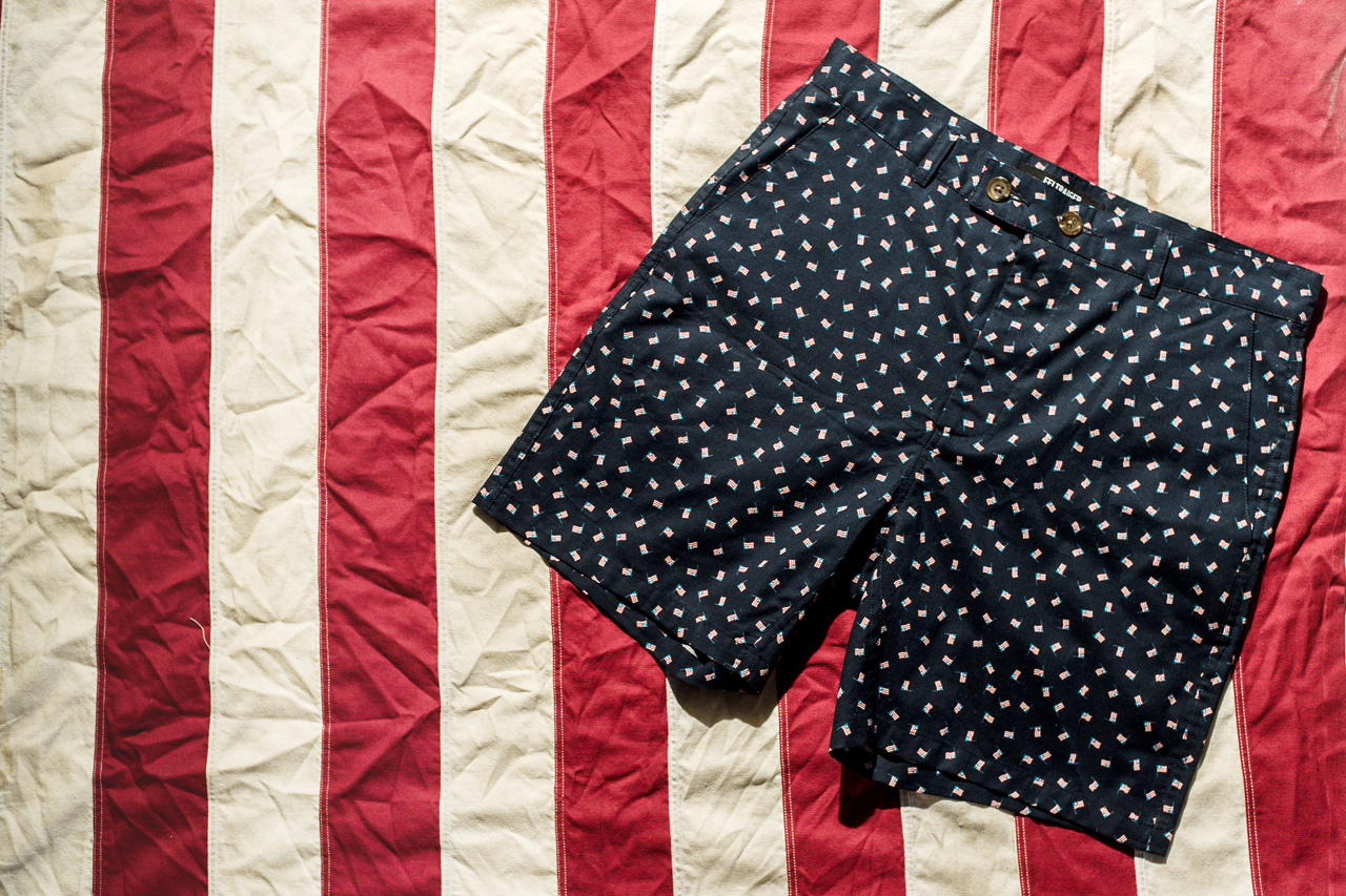Image of FELTRAIGER x Stock MFG Co. American Flag Shorts