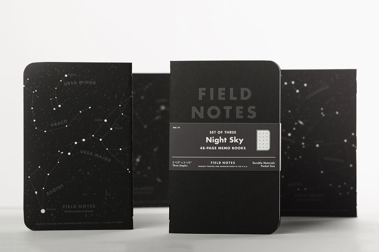 Image of Field Notes Night Sky Edition