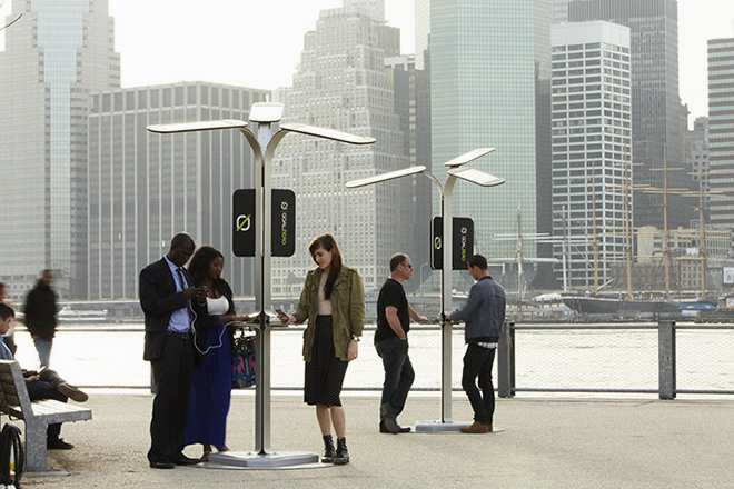 Image of Free Phone Charging Stations to be Installed in New York City
