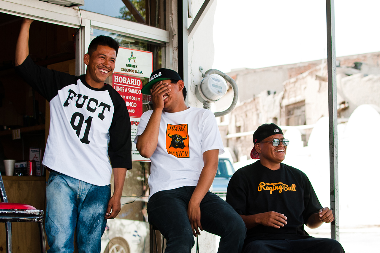 "Image of FUCT ""Raging Bull"" Lookbook in Juarez, Mexico"