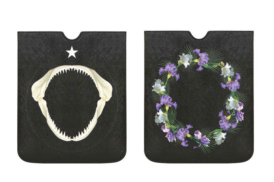 Image of Givenchy 2013 Shark & Flower iPad Case