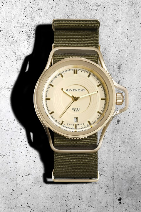 "Image of Givenchy Presents the ""Seventeen"" Watch by Riccardo Tisci"
