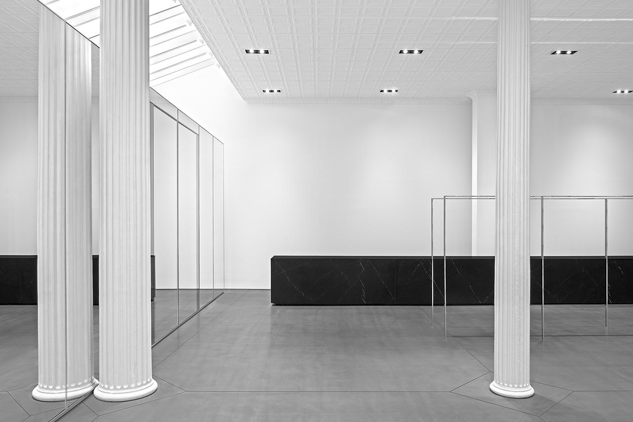 Image of Hedi Slimane's Saint Laurent Opens NYC Flagship
