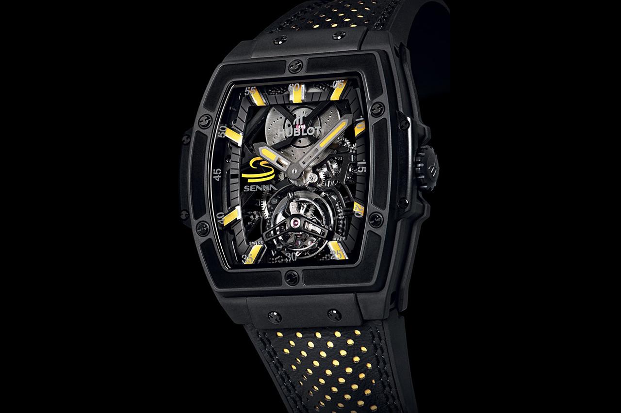 Image of Hublot MP-06 Senna Tourbillon Watch