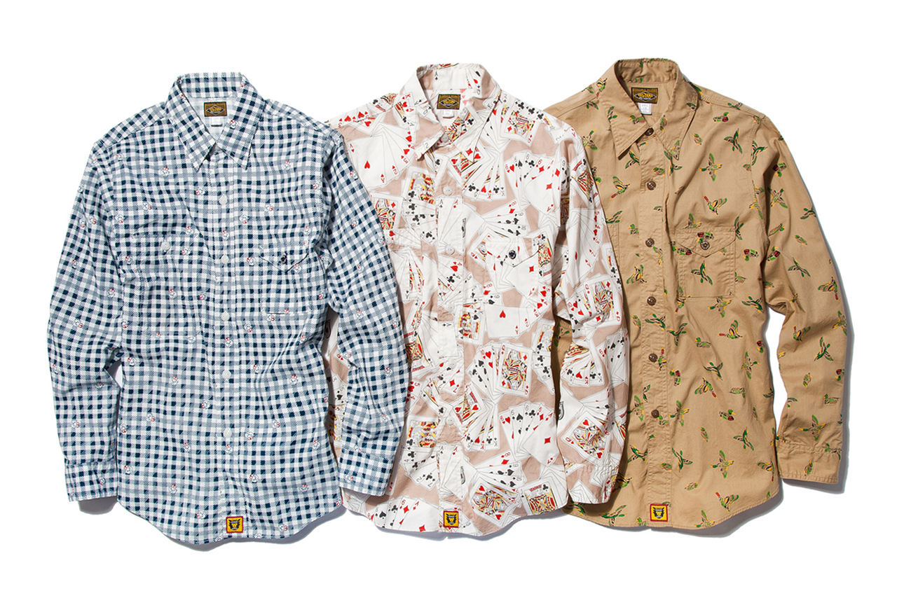 Image of HUMAN MADE 2013 Spring/Summer Shirts