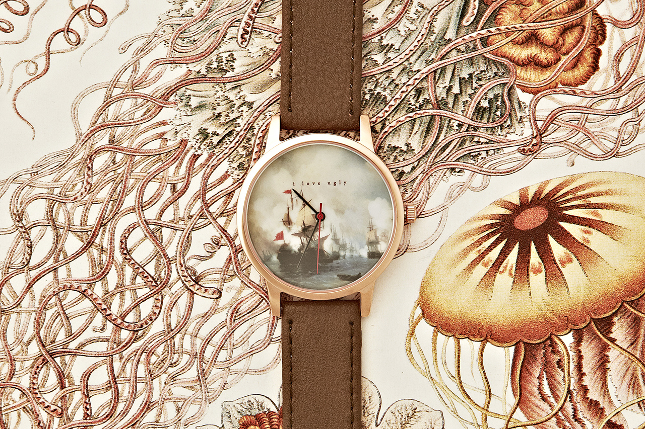 Image of I Love Ugly Frankie Watch June 2013 Collection