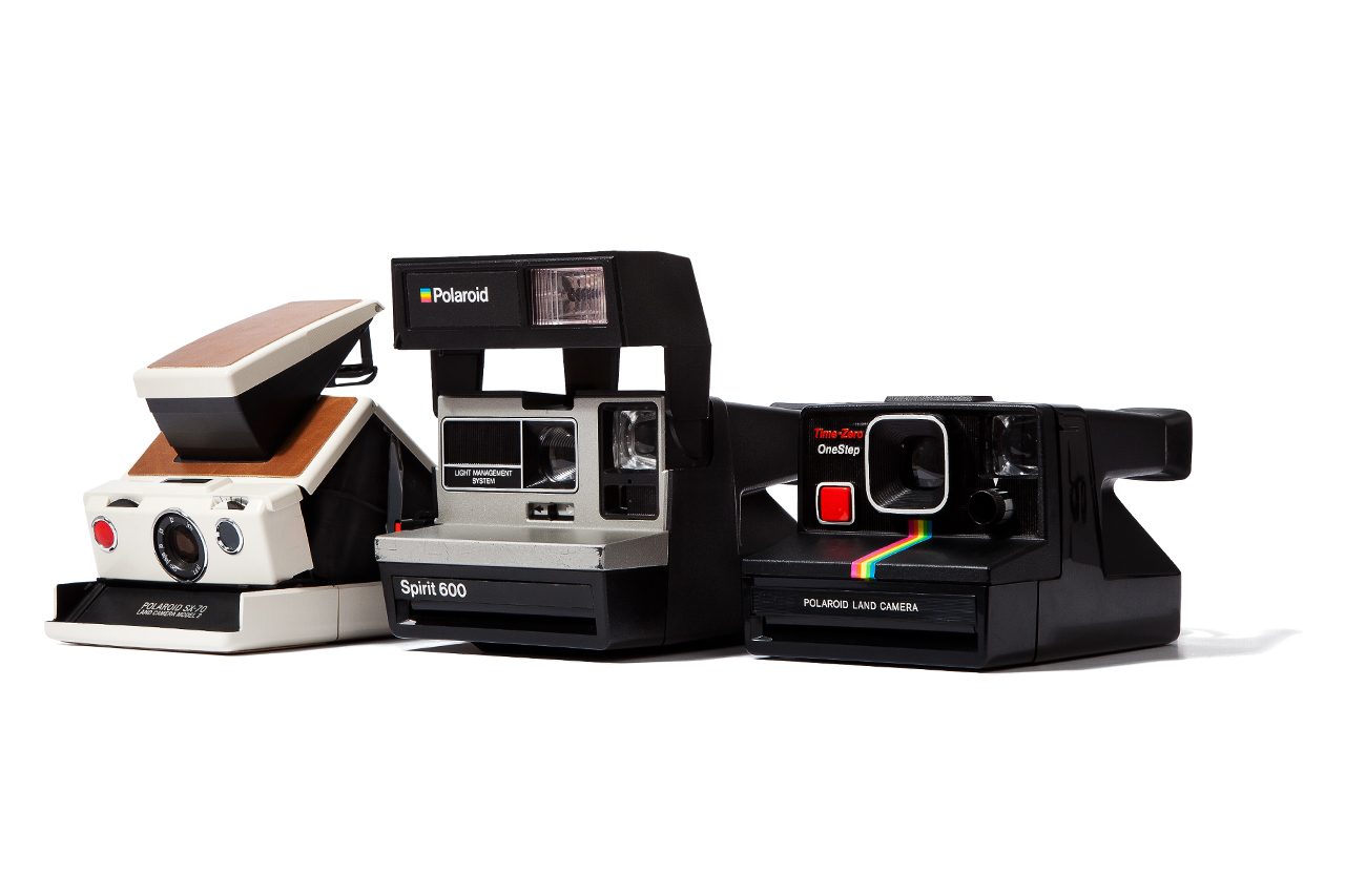 Image of Impossible Refurbished Vintage Polaroid Cameras
