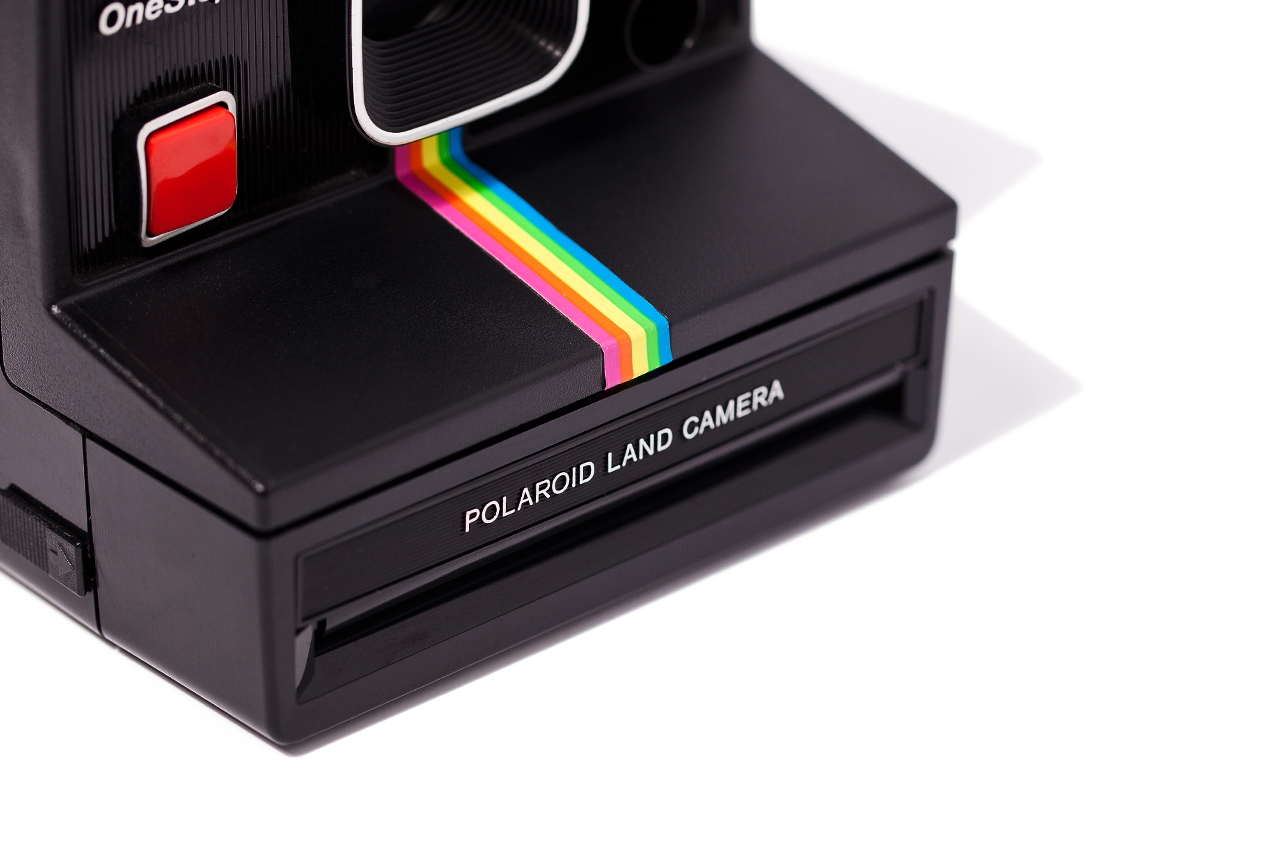 Image of Impossible Refurbished Vintage Polaroid Cameras