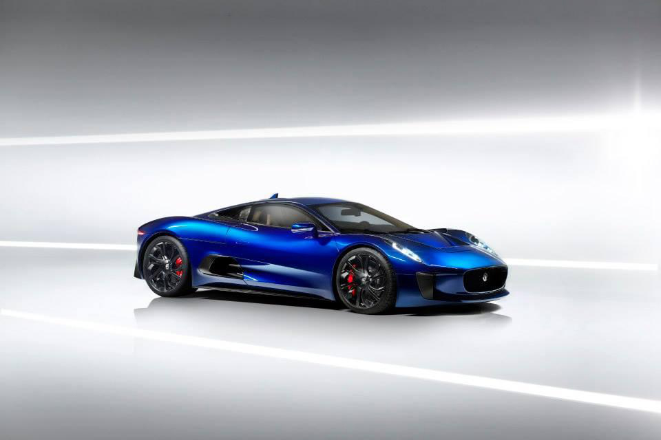 Image of Jaguar C-X75 Prototype