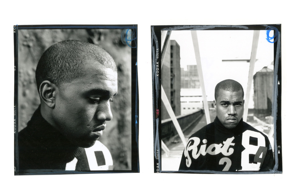 Image of Jonathan Mannion's Never-Before-Seen Photos of Kanye West from the Early 2000s