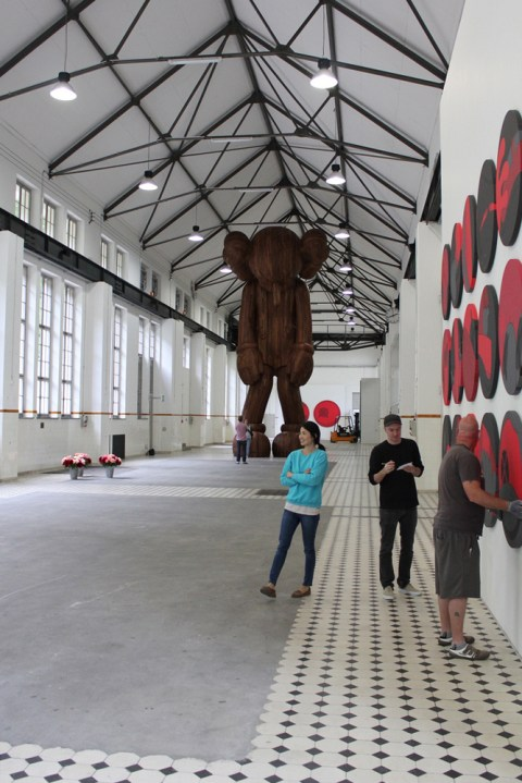 "Image of KAWS ""GISWIL"" Exhibition @ More Gallery"