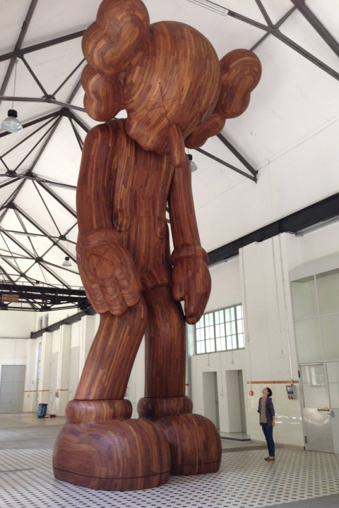 """Image of KAWS """"GISWIL"""" Exhibition @ More Gallery Preview"""