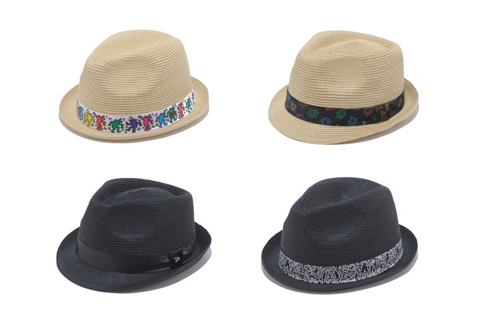 Image of Keith Haring x New Era EK Collection 2013 Summer Fedora & Trilby