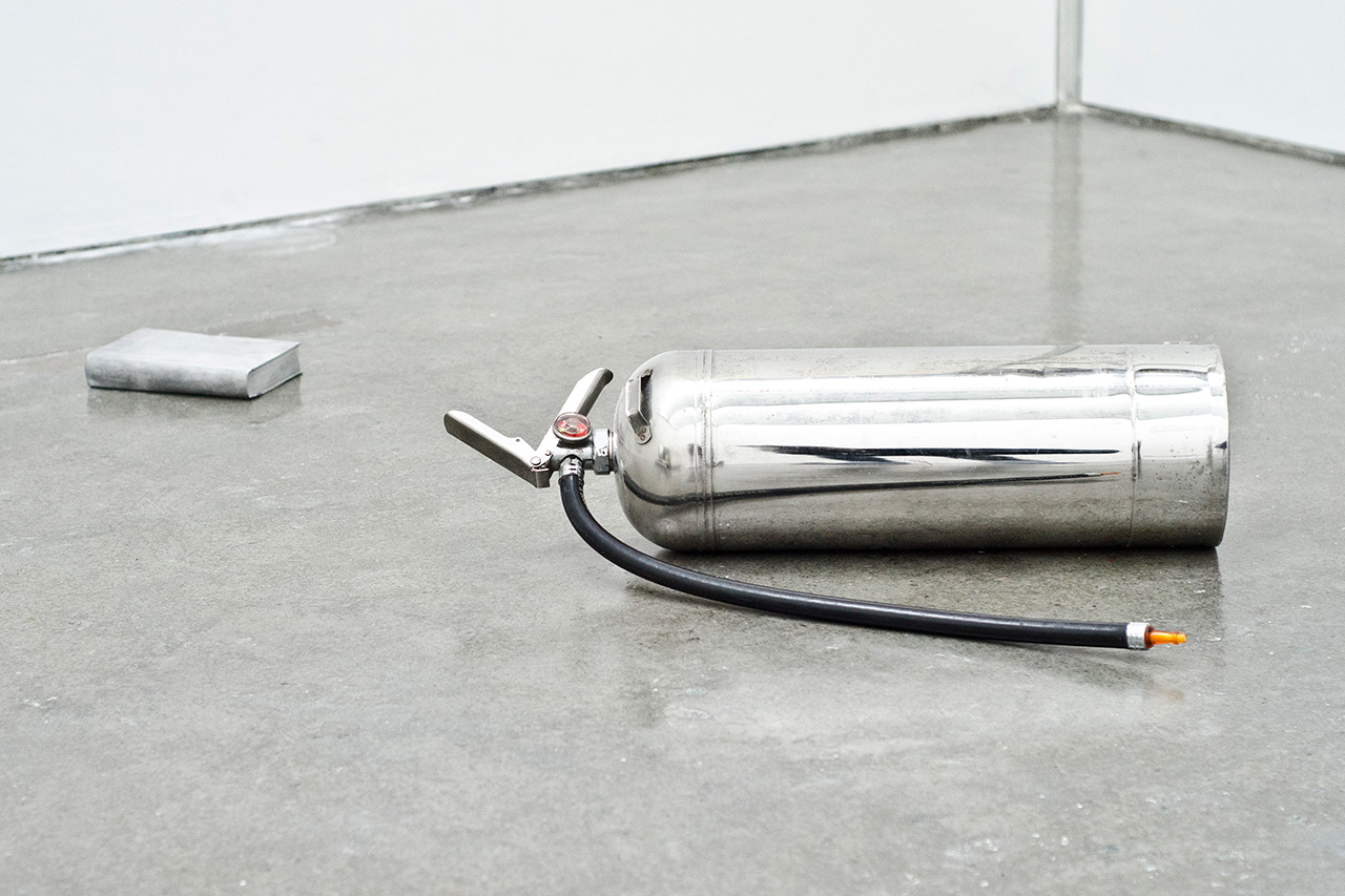 "Image of L.Clayton and Kazuki Kuraishi ""Participation Mystique"" Installation @ Royal College of Art"