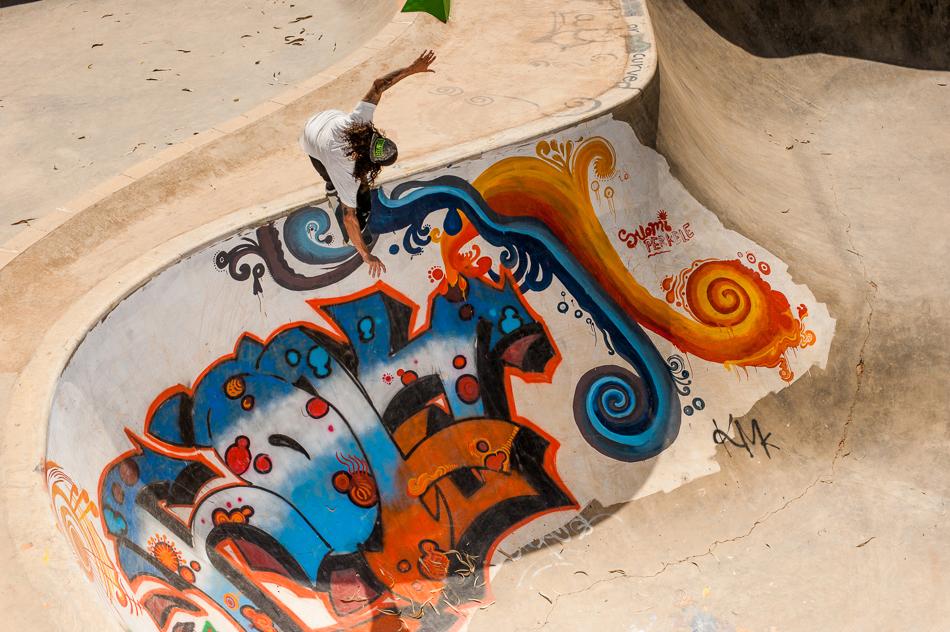 Image of Levi's Holy Stoked Skatepark in Bangalore, India