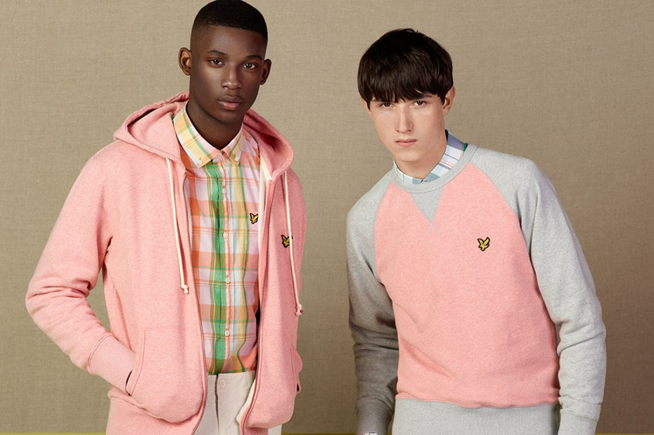 "Image of Lyle & Scott 2013 Summer ""Classic British Sportswear"" Collection"