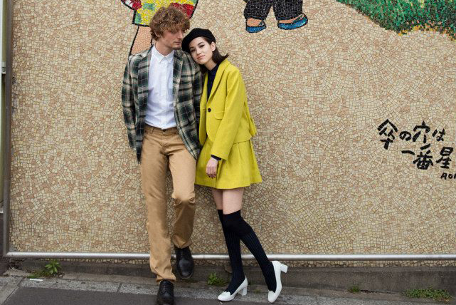 "Image of Maison Kitsuné 2013 Fall/Winter ""High School Lovers"" Lookbook"