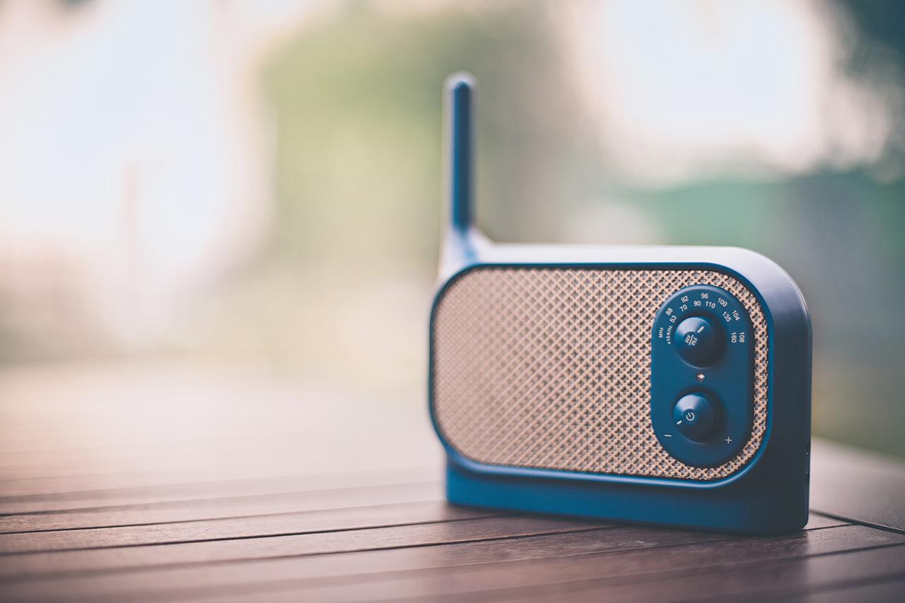 Image of Mezzo Radio by Ionna Vautrin for Lexon