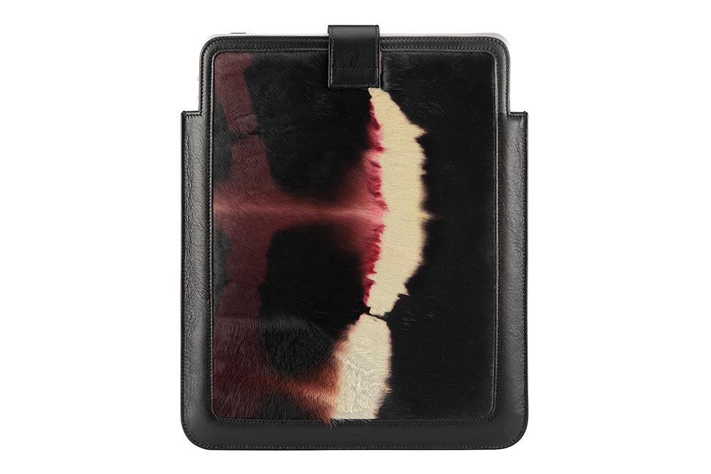 Image of Neil Barrett Cowhide iPad Case