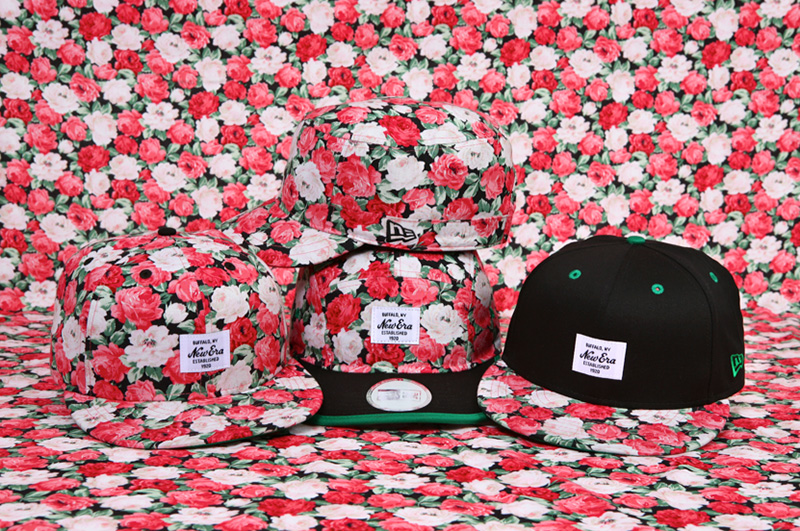 "Image of New Era Korea 2013 Summer ""Floral"" Collection"