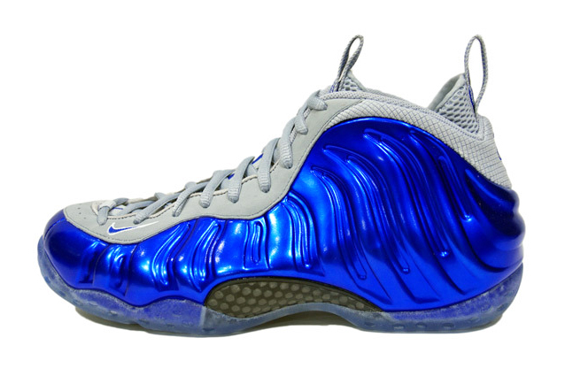 Image of Nike Air Foamposite One Game-Sport Royal/Wolf Grey