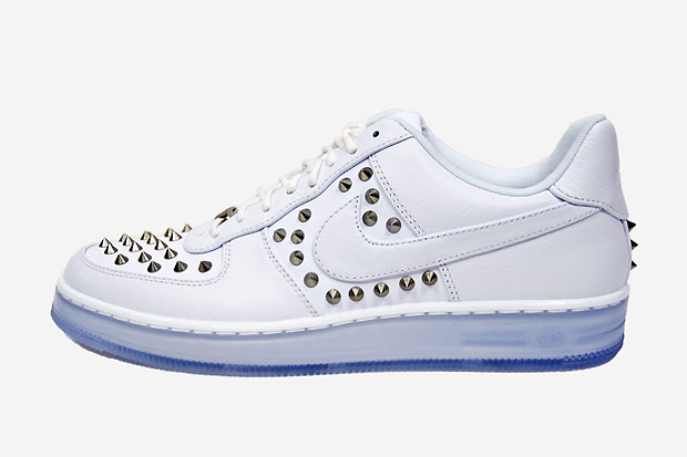 """Image of Nike Air Force 1 """"Downtown Spike"""" White"""