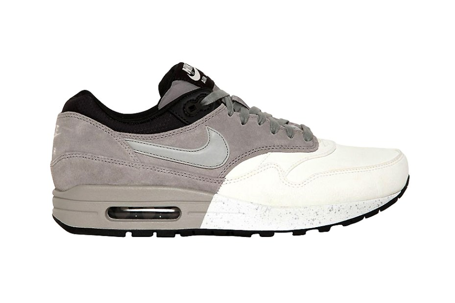 Image of Nike Air Max 1 Premium Grey/White/Black