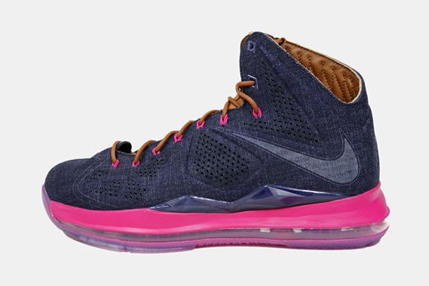 Image of Nike LeBron X Claim EXT Denim QS