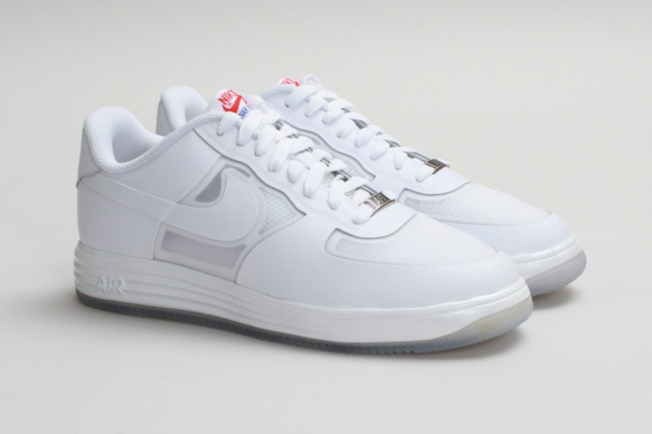 "Image of Nike Sportswear Lunar Force 1 Fuse LTHR ""White on White"""